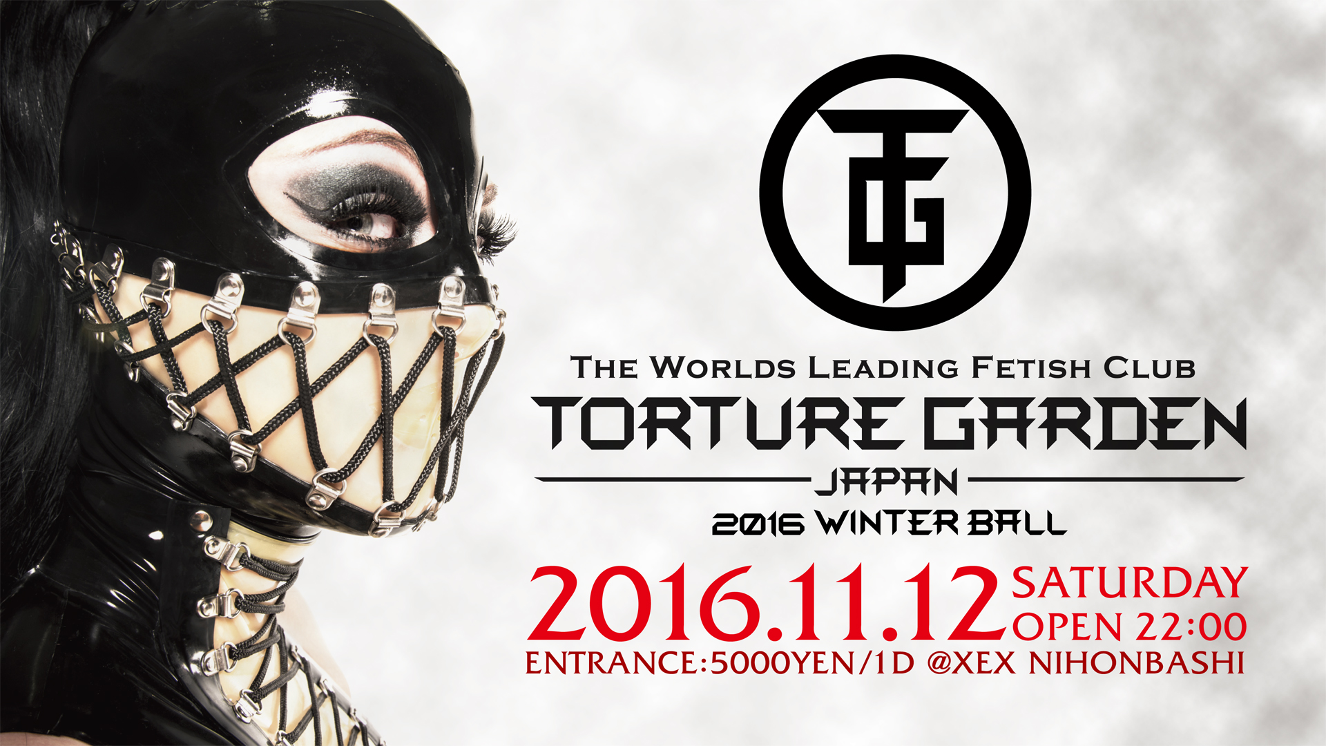 TORTURE GARDEN JAPAN 2016 WINTER BALL